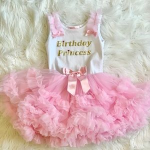 Other - Birthday girl tutu gown-3T